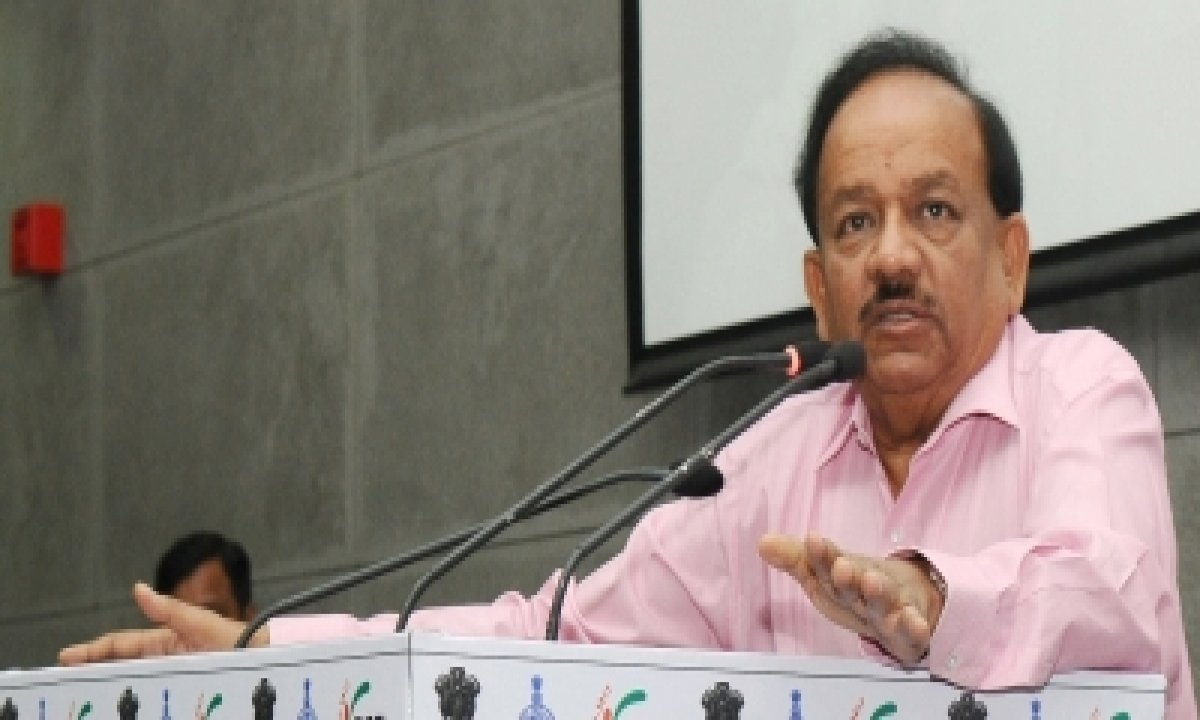 Vaccination Big Weapon In Fight Against Covid: Harsh Vardhan-TeluguStop.com