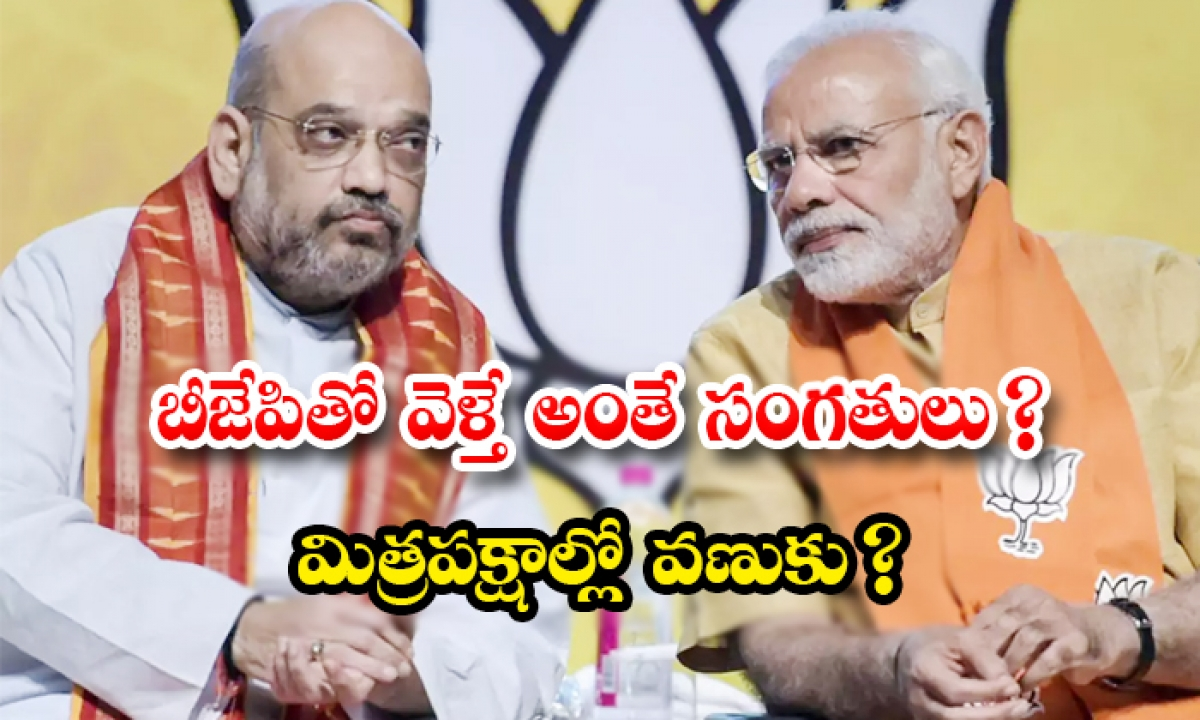 Various Political Parties Are Afraid To Alliance With Bjp-TeluguStop.com