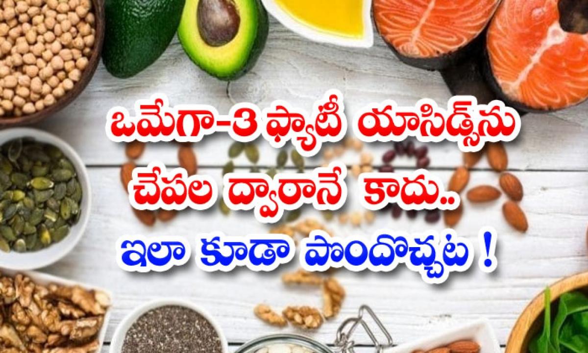 Sources Of Omega 3 In Vegetarian Diet-ఒమేగా -3 ఫ్యాటీ యాసిడ్స్ను చేపల ద్వారానే కాదు..ఇలా కూడా పొందొచ్చట-Latest News - Telugu-Telugu Tollywood Photo Image-TeluguStop.com
