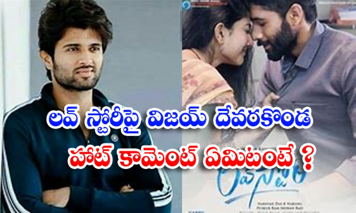 Vijay Devarakonda Hot Comment On Love Story-లవ్ స్టోరీపై విజయ్ దేవరకొండ హాట్ కామెంట్.. ఏమిటంటే-Latest News - Telugu-Telugu Tollywood Photo Image-TeluguStop.com