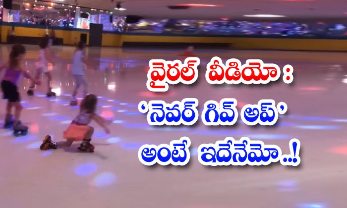 Viral Video Is This What Never Give Up Means-వైరల్ వీడియో: నెవర్ గివ్ అప్ అంటే ఇదేనేమో..-General-Telugu-Telugu Tollywood Photo Image-TeluguStop.com