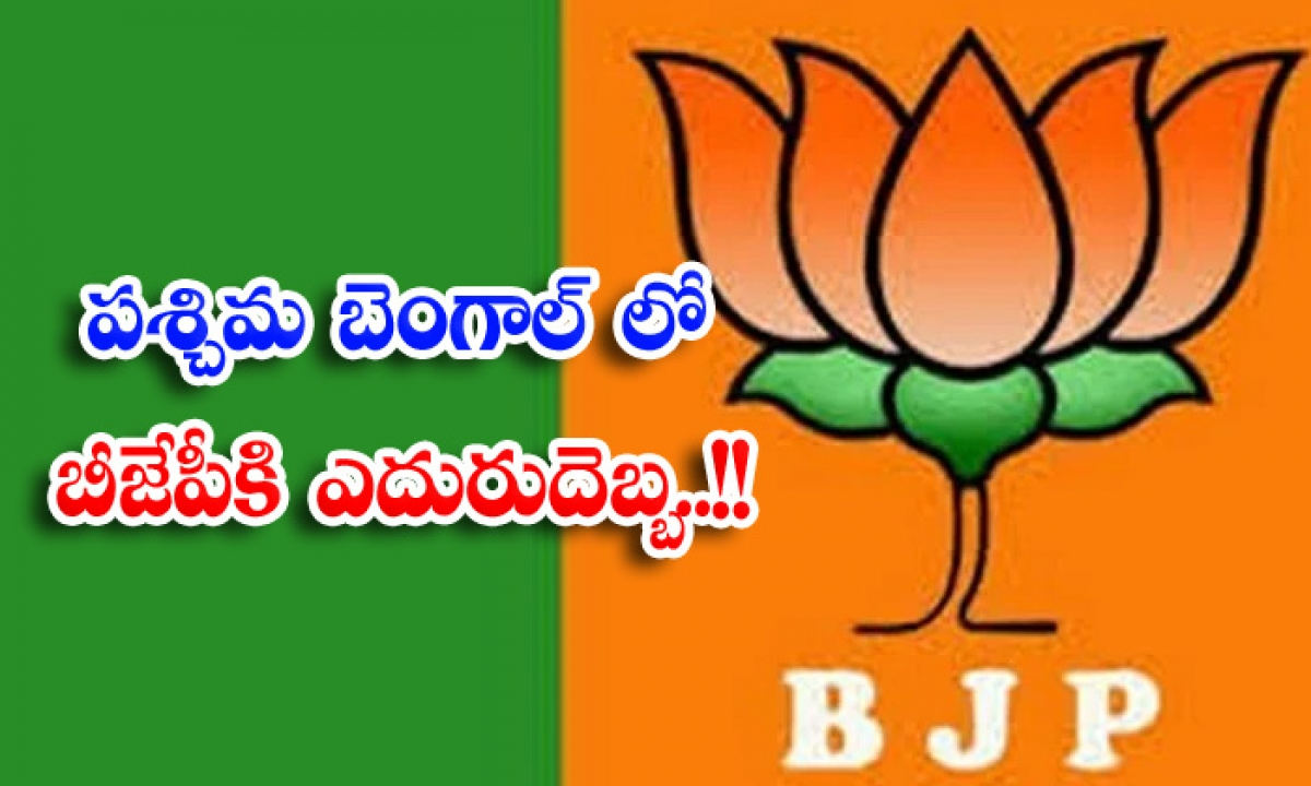 West Bengal Bjp Leader Joins In Tmc-పశ్చిమ బెంగాల్ లో బీజేపీకి ఎదురుదెబ్బ..-Political-Telugu Tollywood Photo Image-TeluguStop.com