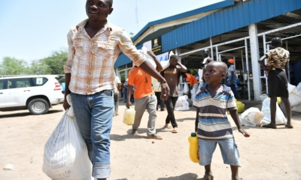 Wfp Appeals For $40mn To Feed 440k Refugees In Kenya-TeluguStop.com