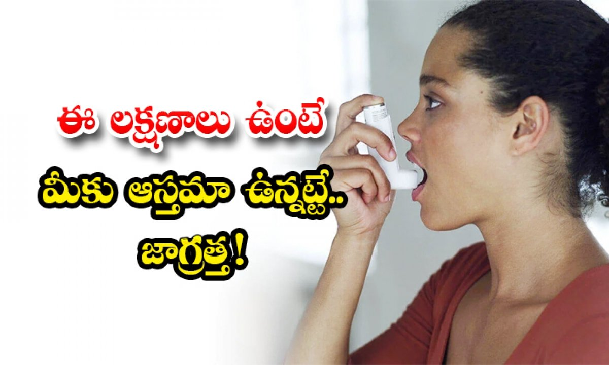 What Are The Symptoms Of Asthma-TeluguStop.com