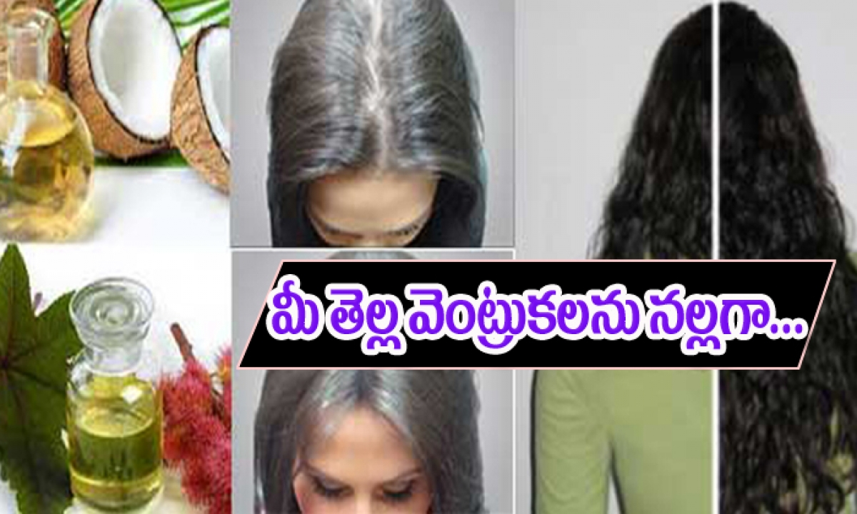 White Hairblack Hair Naturally-ఈ ఒక్క చిట్కా పాటిస్తే చాలు మీ తెల్ల వెంట్రుకలు నల్లగా మారుతాయి..అందరూ తెలుసుకోండి-Telugu Health-Telugu Tollywood Photo Image-TeluguStop.com