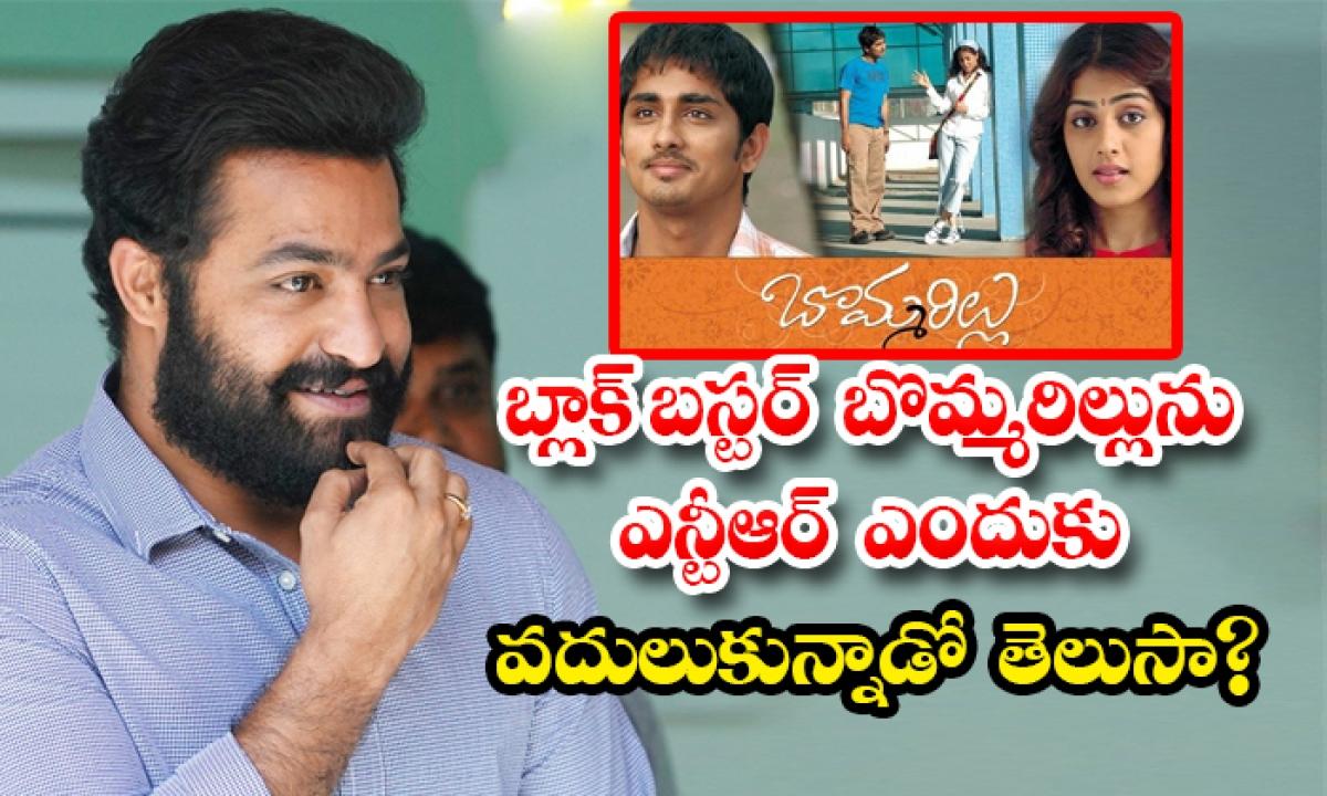 Why Ntr Rejected Bommarillu Movie-TeluguStop.com