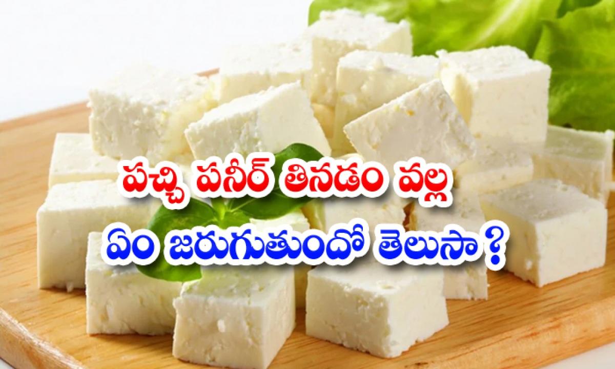 Wonderful Health Benefits Of Raw Paneer-పచ్చి పనీర్ తినడం వల్ల ఏం జరుగుతుందో తెలుసా-Latest News - Telugu-Telugu Tollywood Photo Image-TeluguStop.com