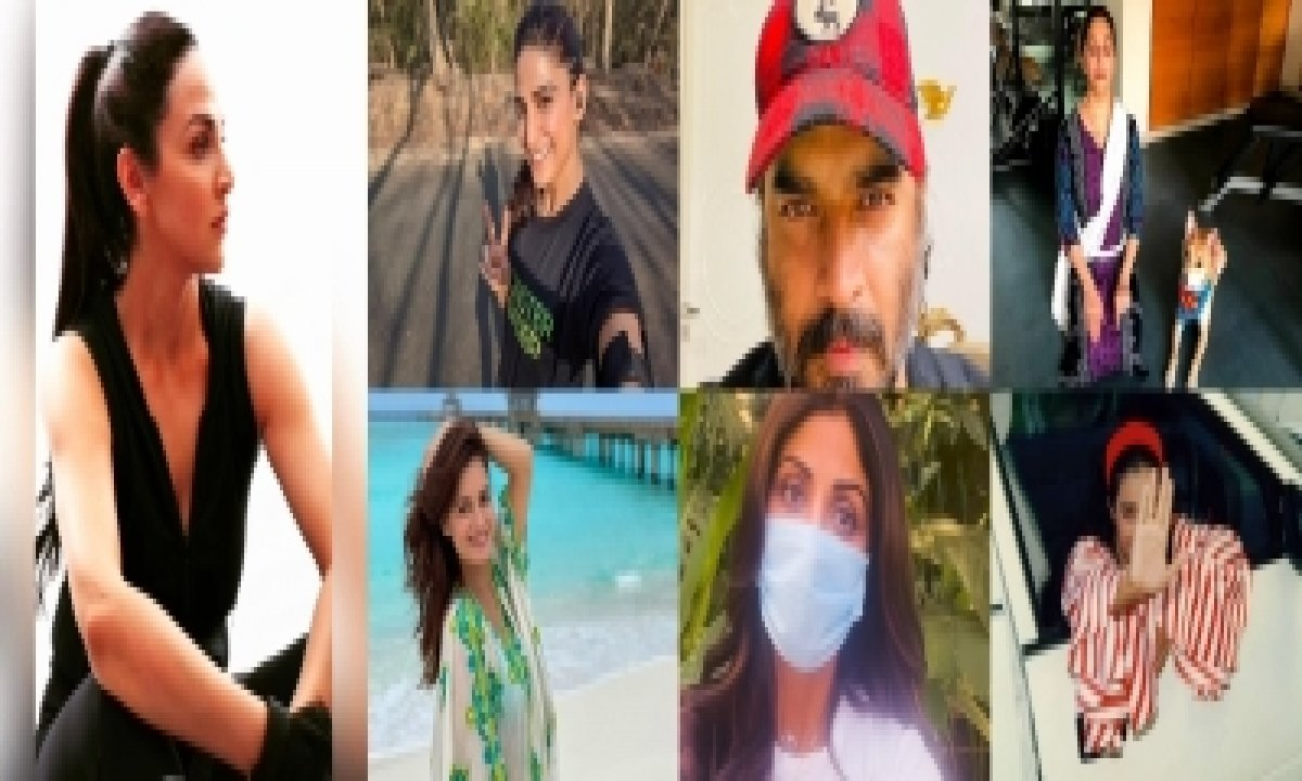 World Health Day: Bollywood Discusses Covid On Social Media-TeluguStop.com