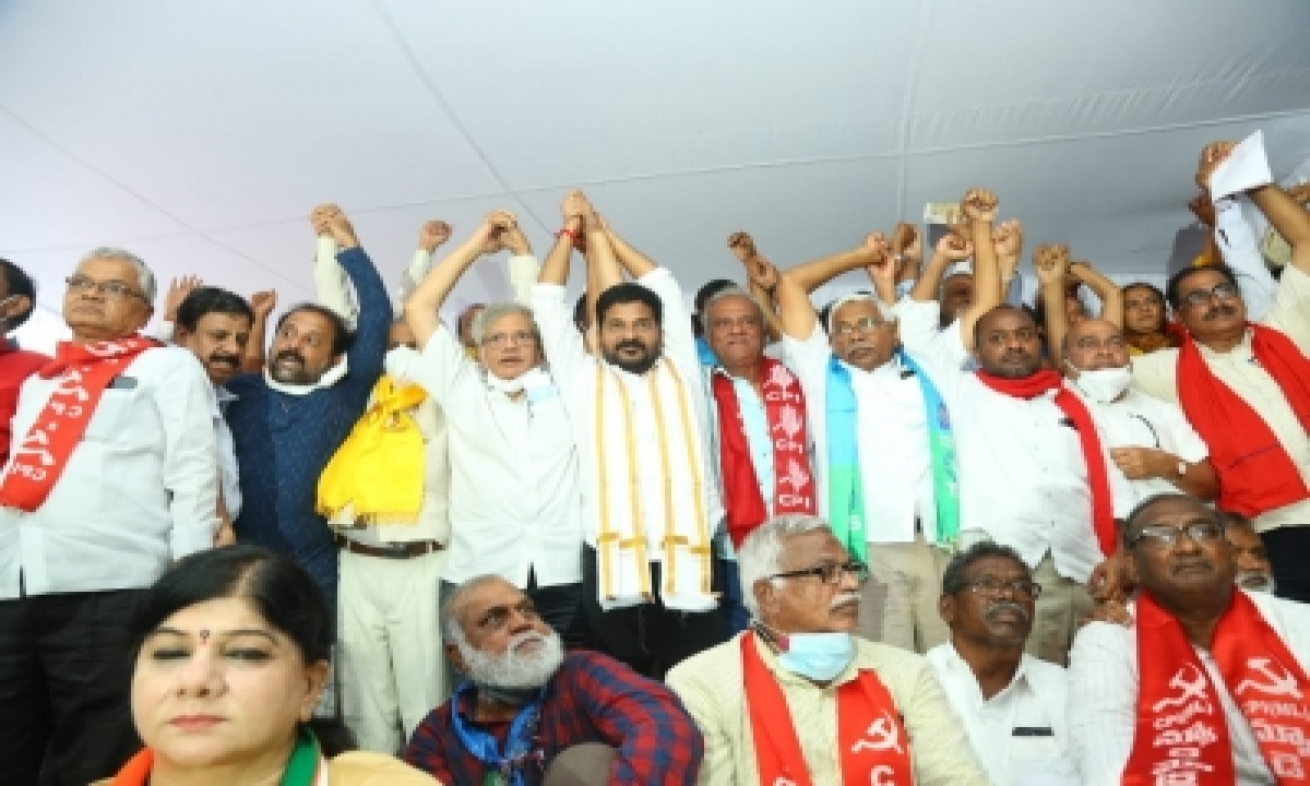 Yechury Calls For People's Movement To Save Country-General-English-Telugu Tollywood Photo Image-TeluguStop.com