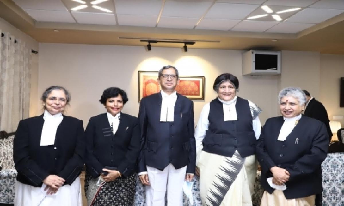 'you Shout, You Demand, Your Right', Cji Bats For 50% Women In Judiciary-TeluguStop.com