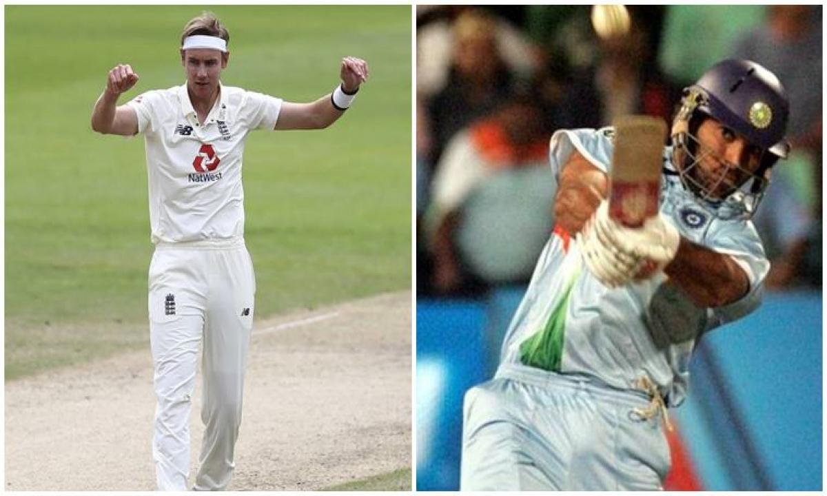Stuart Broad Is A Legend; Think Beyond Six Sixes: Yuvraj Singh-TeluguStop.com