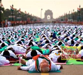International Yoga Day: 35 Yoga Asanas In 35 Minutes-TeluguStop.com