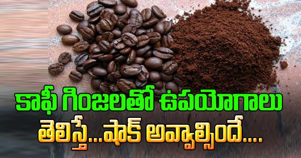 Uses Of Coffee Beans-Uses Of Coffee Beans-Telugu Health-Telugu Tollywood Photo Image-TeluguStop.com