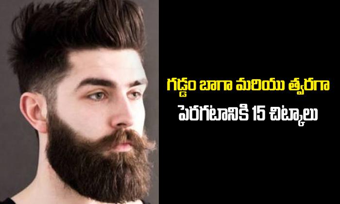 15 Tips To Grow Beard Faster-General-English-Telugu Tollywood Photo Image-TeluguStop.com