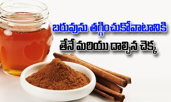 TeluguStop.com - Lose Your Weight With Honey And Cinnamon