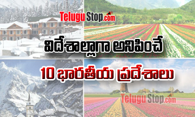 TeluguStop.com - విదేశాల్లాగా అనిపించే 10 భారతీయ ప్రదేశాలు-General-English-Telugu Tollywood Photo Image