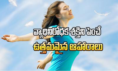 Best Foods For Healthy Immune System1-TeluguStop.com