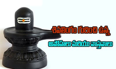 Shiva Lingam Facts And Myths-TeluguStop.com