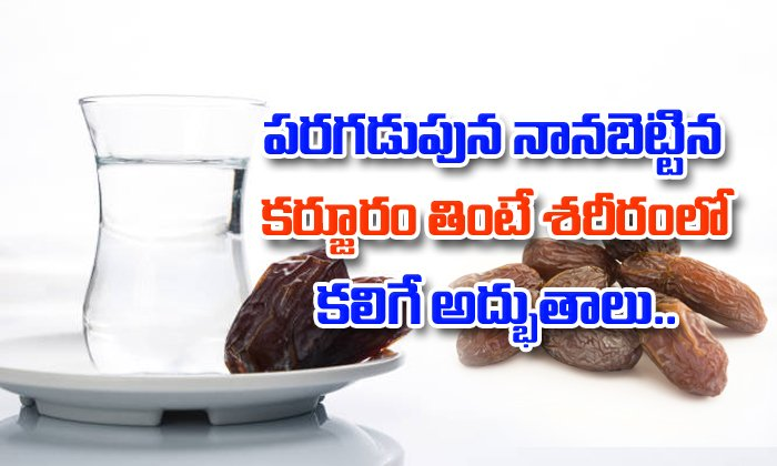 Health Benefits Of Soaked Dry Dates-TeluguStop.com