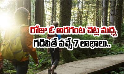 TeluguStop.com - 7 Benefits Of Spending Time With Trees Everyday-Telugu Health Tips-Telugu Tollywood Photo Image