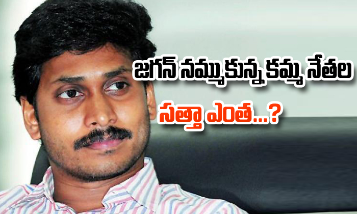 Jagan Mohan Reddy Cast Politcs In Two Districts-TeluguStop.com