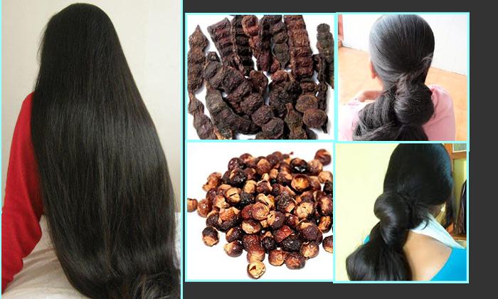 Shikakai Powder And Oils Hair Packs-TeluguStop.com