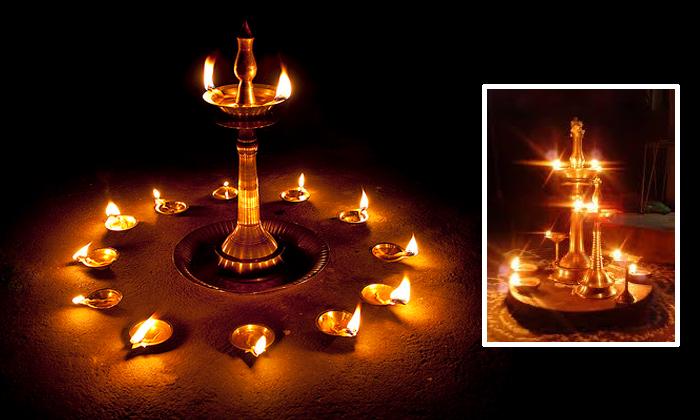 Benefits Of Deeparadhana1-ఏ రకమైన నూనెతో దీపారాధన చేస్తే, సమస్యలు తొలగుతాయో తెలుసా-Telugu Bhakthi-Telugu Tollywood Photo Image-TeluguStop.com