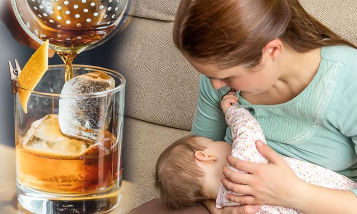 Breastfeeding And Drinking Alcohol-TeluguStop.com