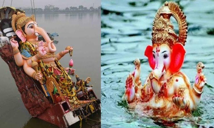 What Is The Story Behind The Tradition Of Ganesh Nimajjanam-TeluguStop.com