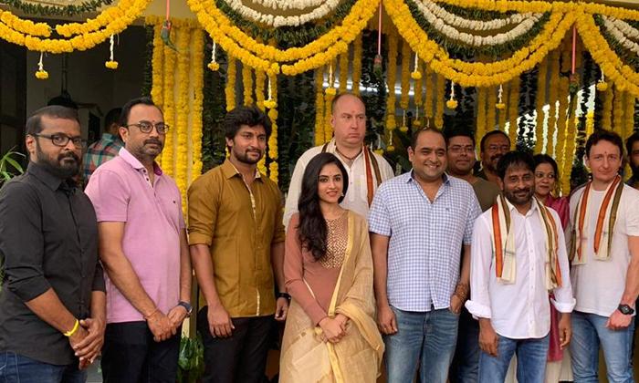 Nani24 Movie Launching With Vikram K Kumar Direction-TeluguStop.com