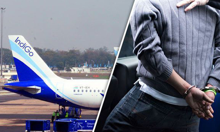 The Passenger Smoking In The Flight Makes Emergency In The Flight-TeluguStop.com