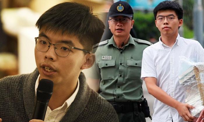 Tstop2 Hong Kong Activist Joshua Wong Is 22 Years Young Boy-TeluguStop.com
