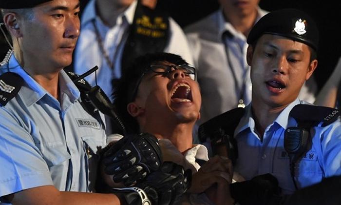 tstop2 hong kong activist joshua wong is 22 years young boy - Telugu Viral News Tstop2 Hong Kong Activist Joshua Wong Is 22 Years Young Boy -