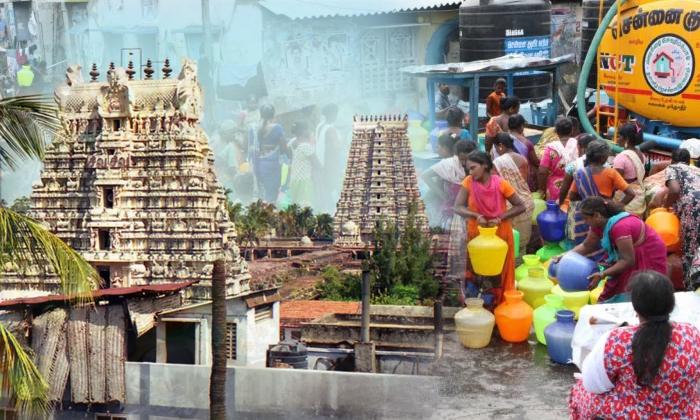 Several Wells In Ramanathaswamy Temple Still Have Water-దేవుడి మహిమకు ప్రత్యక్ష సాక్ష్యం ఇది… శాస్త్రవేత్తలు సైతం అవాక్కవుతున్న దేవాలయ రహస్యం-Devotional-Telugu Tollywood Photo Image-TeluguStop.com