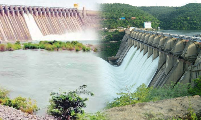 Srisailam And Sagargates Onemore Timeopen Water-TeluguStop.com