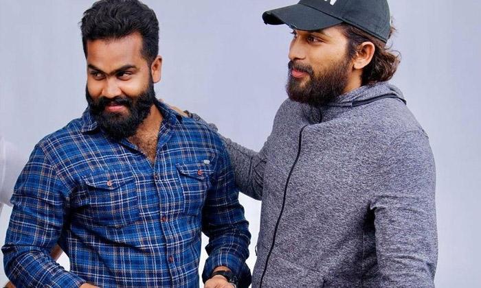 Allu Arjun Beard Look Goes Viral-TeluguStop.com