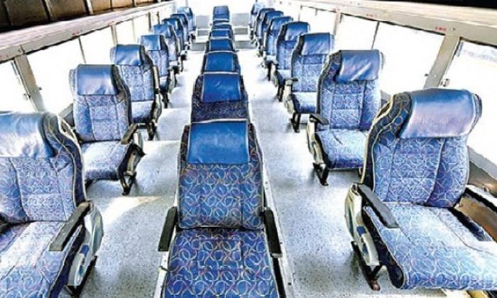 Rtc Buses New Model Social Distance-TeluguStop.com