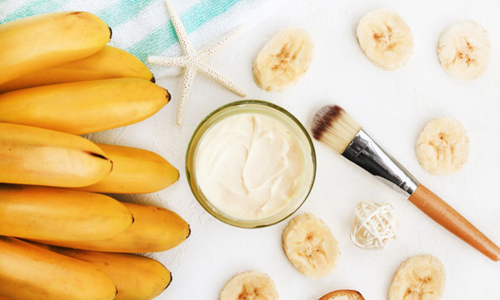 How To Use Banana For Glowing Face-TeluguStop.com