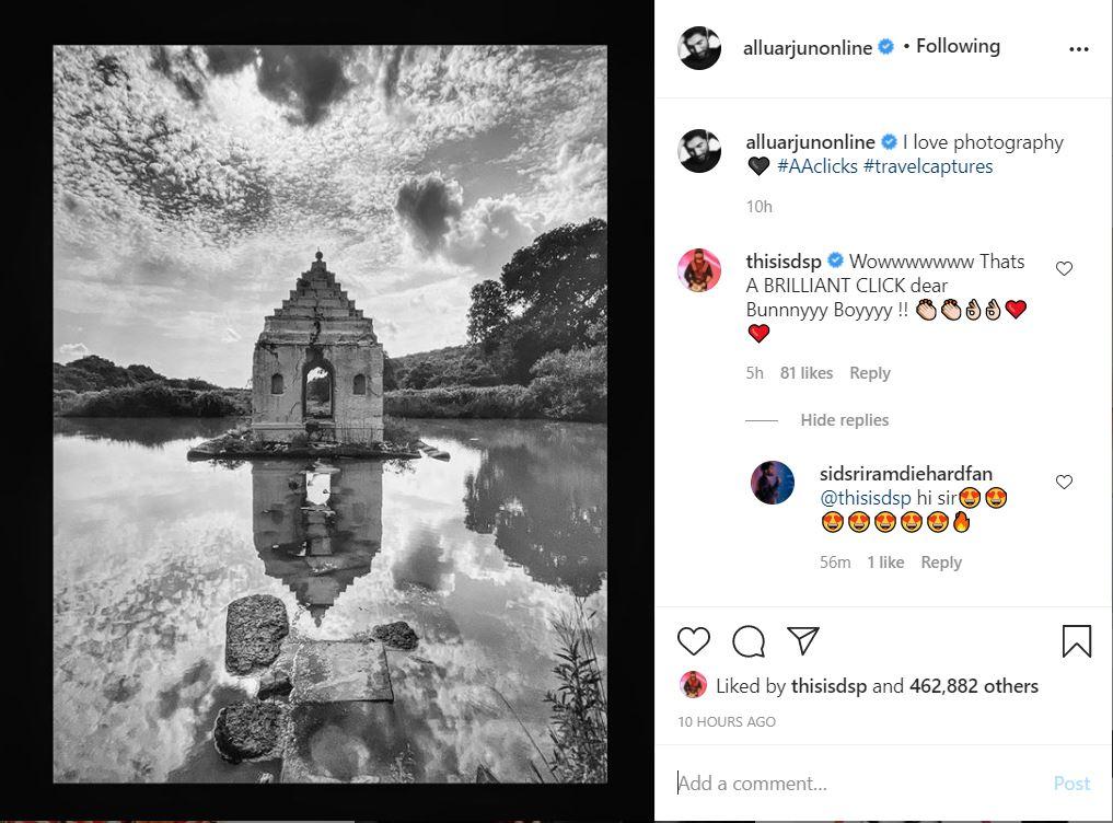 Allu Arjun Amazes With His Photography Skills-TeluguStop.com