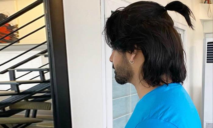 Akkineni Sushanth New Hairstyle Look Instagram-ఆ సినిమా కోసం అక్కినేని సుశాంత్ బాగానే పెంచేసాడుగా…-Latest News - Telugu-Telugu Tollywood Photo Image-TeluguStop.com