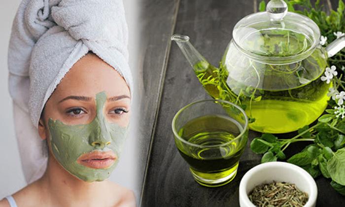 Green Tea Glowing Skin Beauty Tips Beauty Skin Care-TeluguStop.com