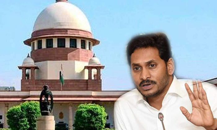 Telugu Ap, Ap Politics, Chandrababu, Jagan Ruling, Justice Ramana Case, Nimmagadda Ramesh Kumar, Supreme Court, Tdp Govt, Ys Jagan, Ys Jagan In Trouble On Officers Behavior-Political
