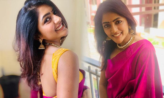 Actress Eesha Rebba Traditional Attire-telugu Actress Hot Photos Actress Eesha Rebba Traditional Attire - Telugu Hot Ima High Resolution Photo