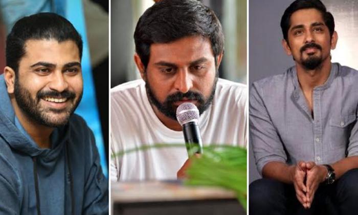 Anu Emmanuel Roped In For Sharwanand's 'maha Samudram'-TeluguStop.com