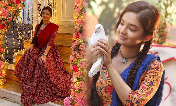 Beautiful Images Of Actress Anushka Sen-telugu Actress Hot Photos Beautiful Images Of Actress Anushka Sen - Telugu Fathe High Resolution Photo