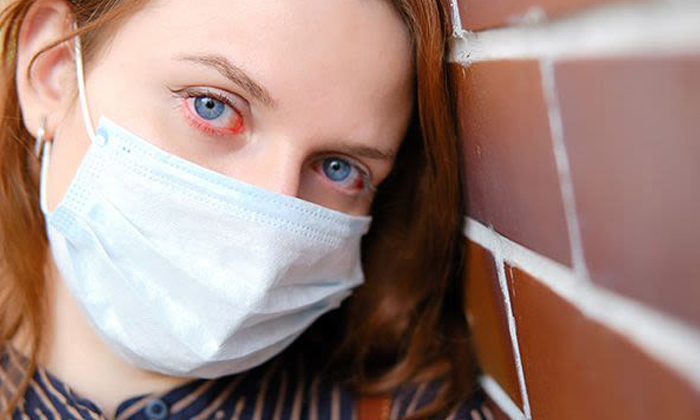 Corona Virus Can Effect Human Eye Sight-TeluguStop.com