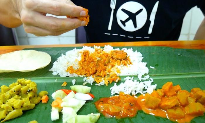 Banana Leaf Food Is Very Healthy Food-TeluguStop.com