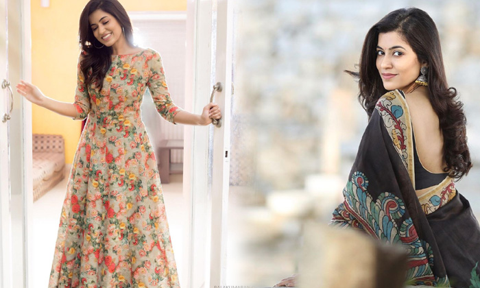 Malayalam Stunning Beauty Anju Kurian Traditional Poses-telugu Actress Hot Photos Malayalam Stunning Beauty Anju Kurian High Resolution Photo