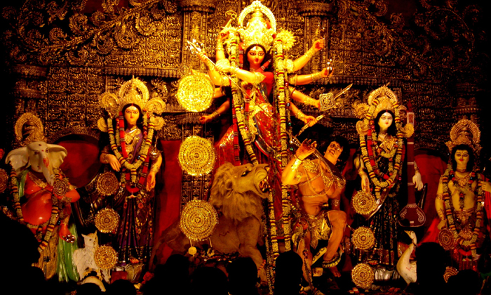 Devi Navaratri Speciality Of Durgadevi Nine Types-TeluguStop.com