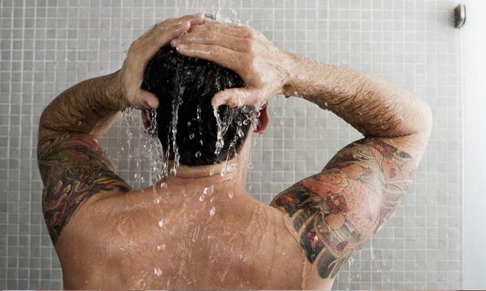 Health Benefits Of Hot Water Bath-TeluguStop.com